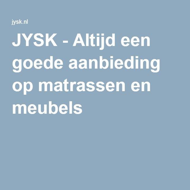 JYSK - Altijd een goede aanbieding op matrassen en meubels