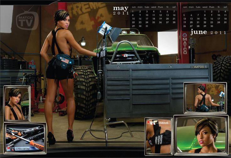 May/June 2011 Matco Tools calendar girl | Matco's Calendar Girls ...
