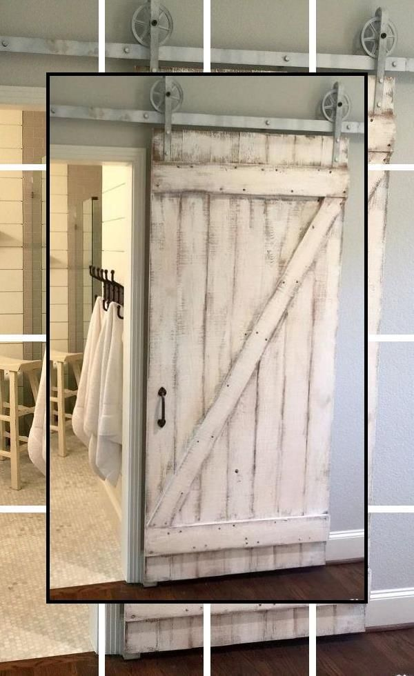 Large Sliding Barn Doors White Barn Door For Bathroom Sliding Barn Door In Bedroom Exterior Barn Doors Barn Doors Sliding Wood Doors Interior