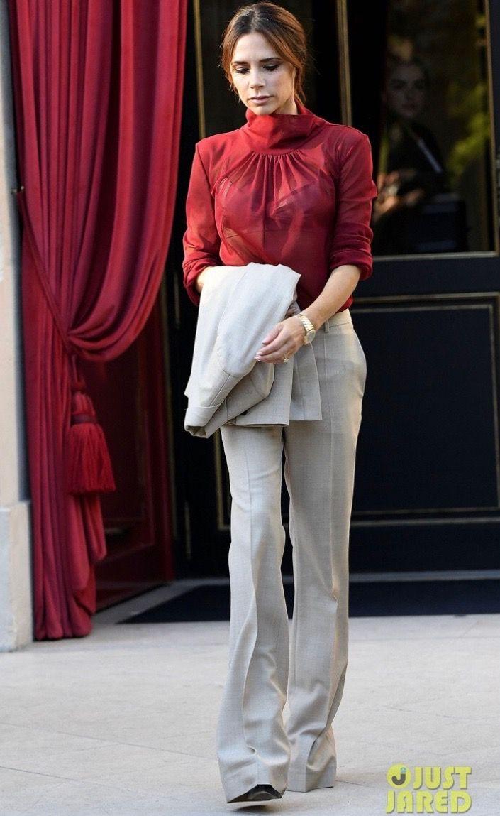 Pinterest Karinacamerino Celebrity Style Dresses Victoria Beckham Outfits Victoria Fashion [ 1149 x 705 Pixel ]