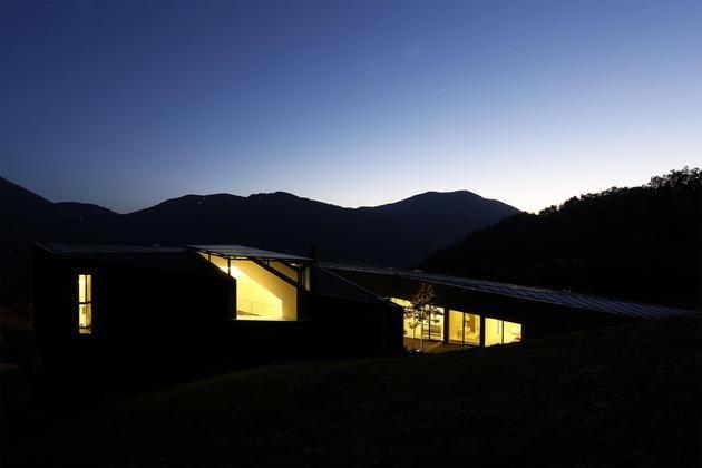 nice Alps Villa by Camilo Boticini Architects