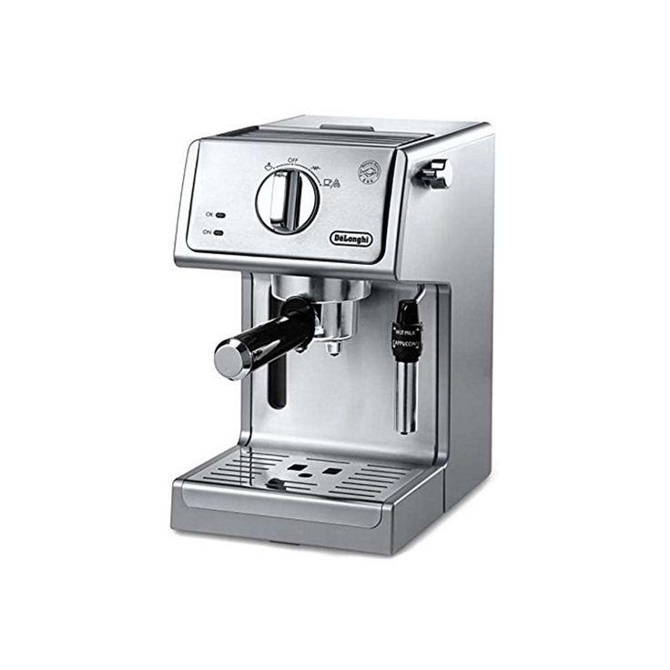 De'Longhi ECP3630 Stainless Steel 15 Bar Pump Espresso and Cappuccino Machine (De'Longhi 15 Bar Pump Espresso/Cappuccino Machine), Silver