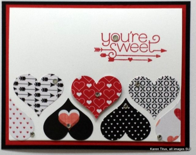 January 2, 2015 by Karen: You Plus Me, Stacked with Love DSP stack, Sweetheart Punch