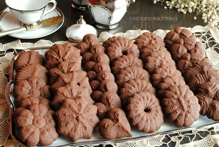 biscotti con pasta frolla spara biscotti al cioccolato