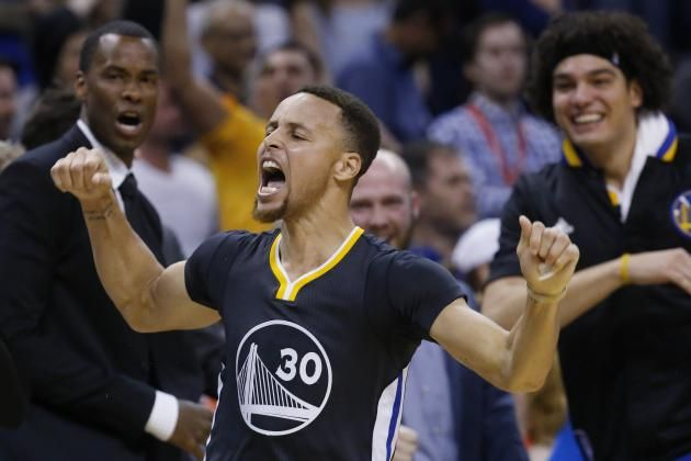 NBA Players Around the League Lose It After Stephen Curry's Game-Winner | Bleacher Report
