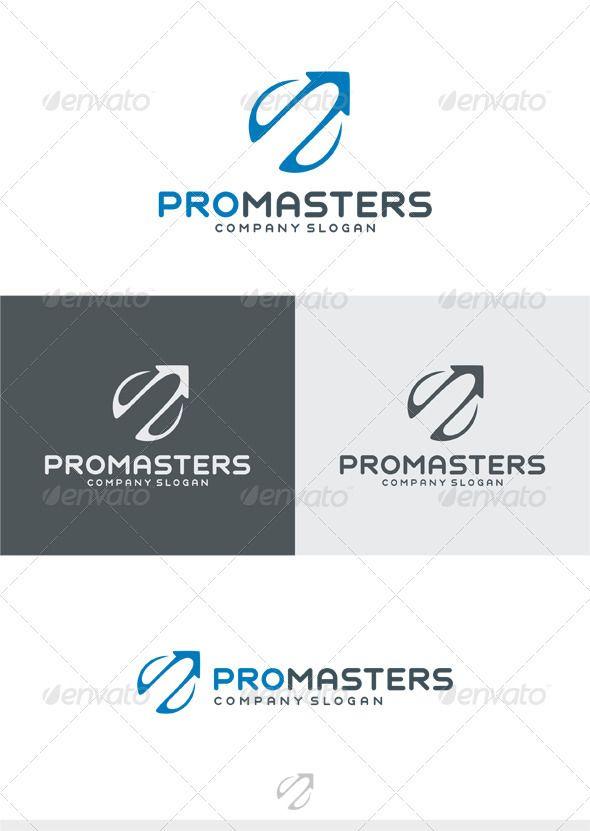Pro Masters Logo - Vector Abstract