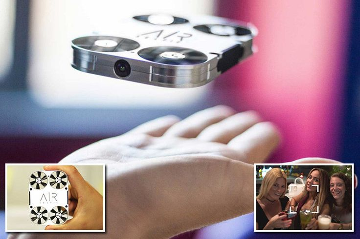 AirSelfie with cover Samsung S7 Edge. Your personal take anywhere drone! #drone #selfie