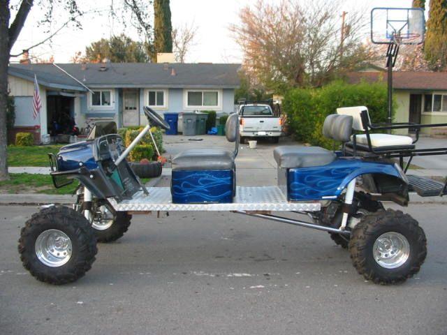 Franklin Nebraska Lifted Golf Carts For Sale