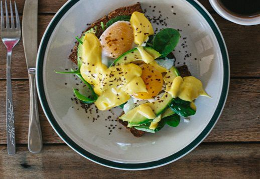 Jordan's Eggs Benedict Breakfast