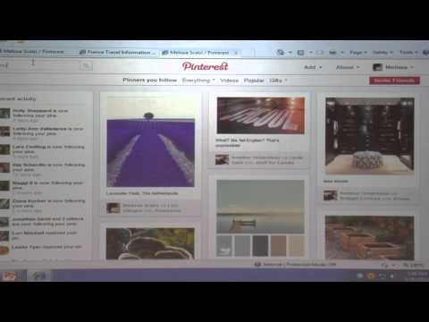 Melissa Scalizi of Tallahassee Community College explains how faculty and staff can use Pinterest in academia