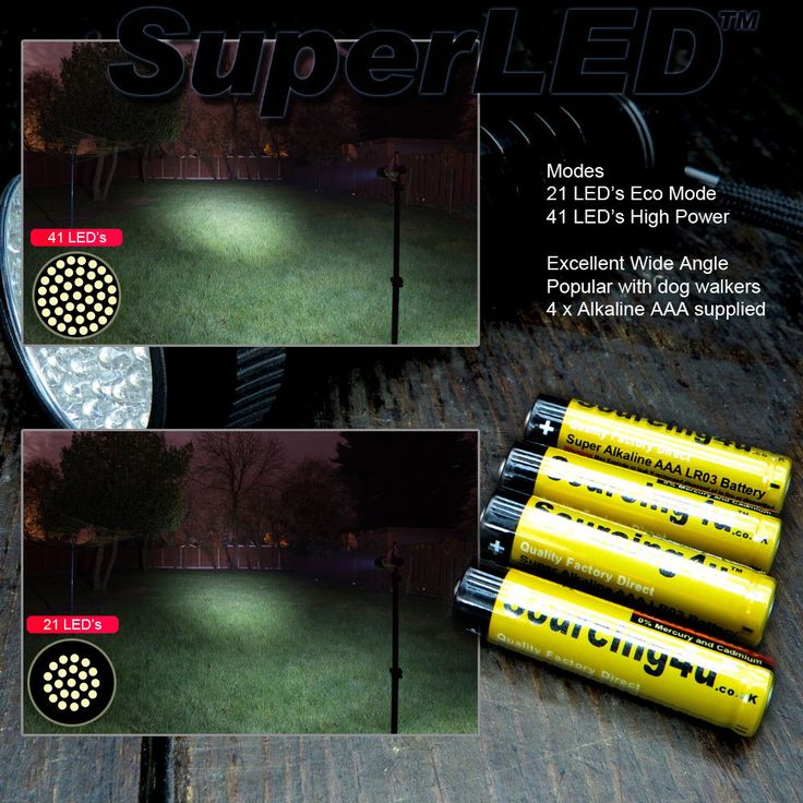 41/21-Super LED Dual Mode Torch-LED Torch-Garden-Camping-Gadgets-Home