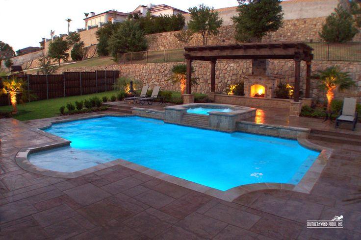 Formal / Geometric Pool #027 by Southernwind Pools