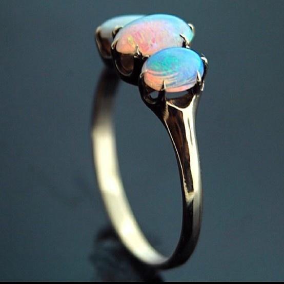 Opal. My birthstone!! Soo pretty!!