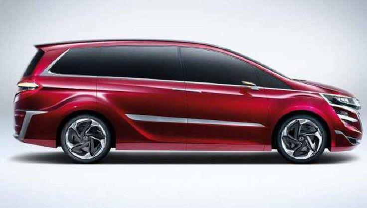 2016 Honda Odyssey side