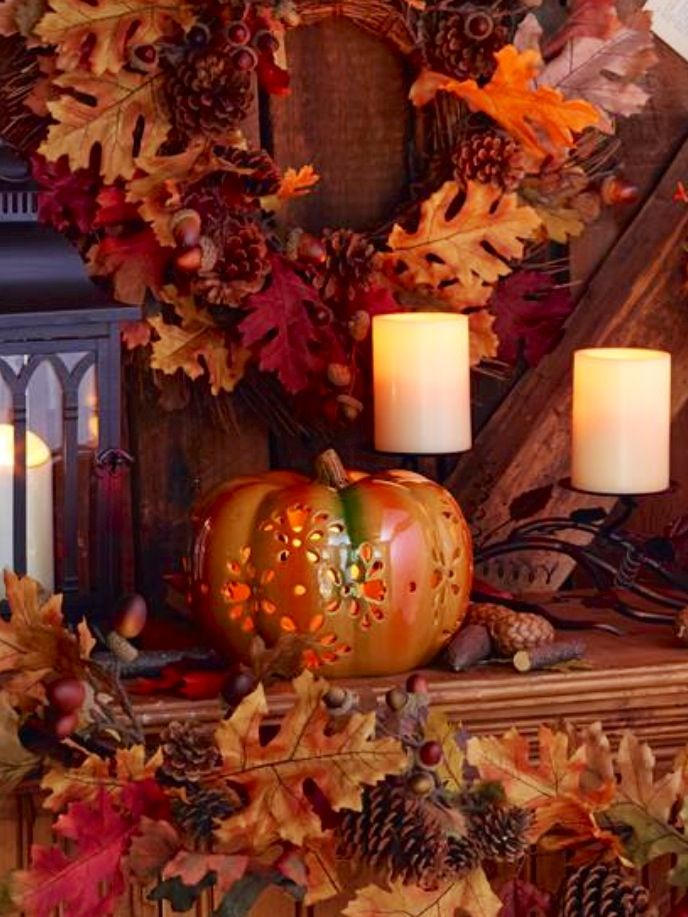 Pin by Tania on Church Decorating Ideas  Pinterest  ~ 115403_Qvc Thanksgiving Decorations