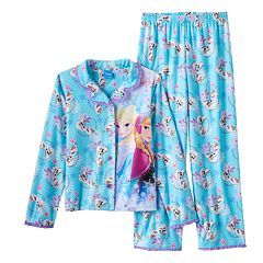 Disney's Frozen Elsa, Anna & Olaf Pajama Set - Girls 4-10