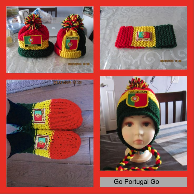 Kids Apparel by Avo: Portugal Hats