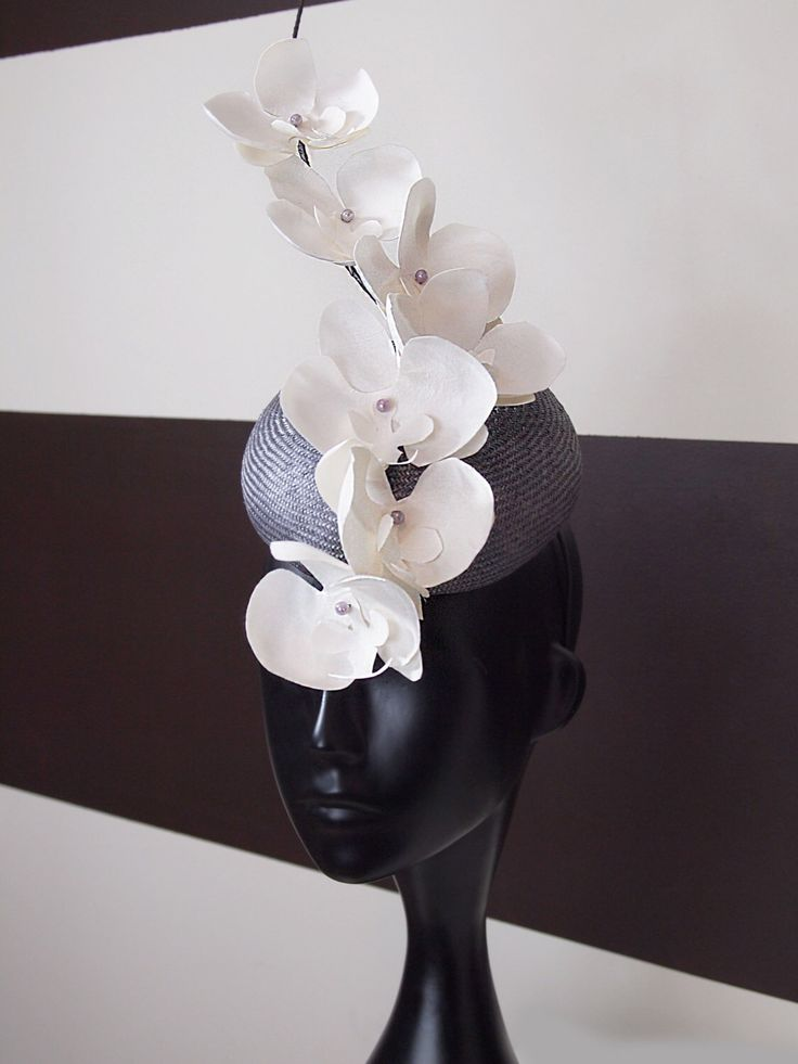 FIRE SALE- Kentucky Derby Hat - Lula Rose - White Orchid Branch Fascinator by LouiseWhiteBoutique on Etsy https://www.etsy.com/listing/186972555/fire-sale-kentucky-derby-hat-lula-rose