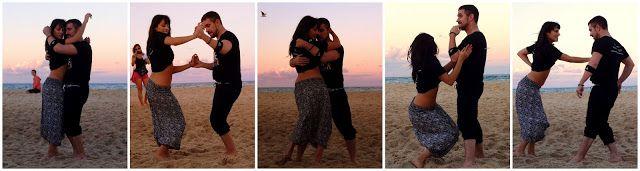 Beachata - beach & bachata with Nestor & Katrina at DouDouLe latin dance camp in Australia