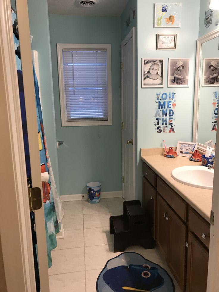 12 Best My Kids Finding Dory Bathroom Images On Pinterest