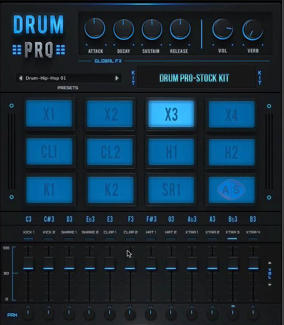 studiolinkedvst offers a great free virtual drum machine to create electronic and urban beats on. Black Bedroom Furniture Sets. Home Design Ideas