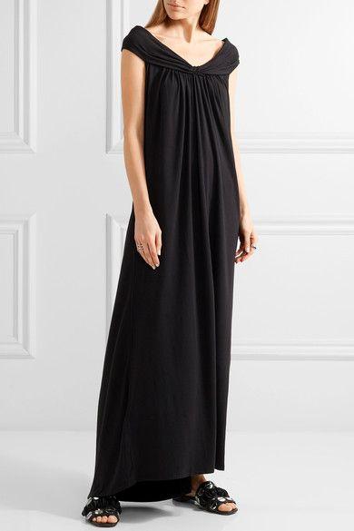 Hatch - Luella Off-the-shoulder Stretch-jersey Maxi Dress - Black -