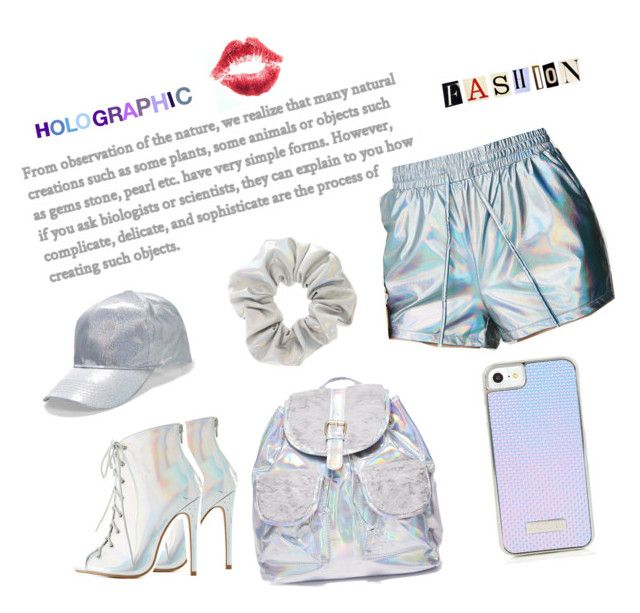 """""""18.01.14"""" by chicwomens on Polyvore featuring Hot & Delicious, Charlotte Russe, Boohoo, 3 AM Imports, holographic, trend and 2018"""