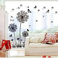 Wall Stickers Wall Decals, Dandelion PVC Wall Sti... – USD $ 8.99