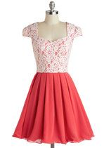 Ashley outfit? - Loganberry Beautiful Dress in Pink | Mod Retro Vintage Dresses | ModCloth.com