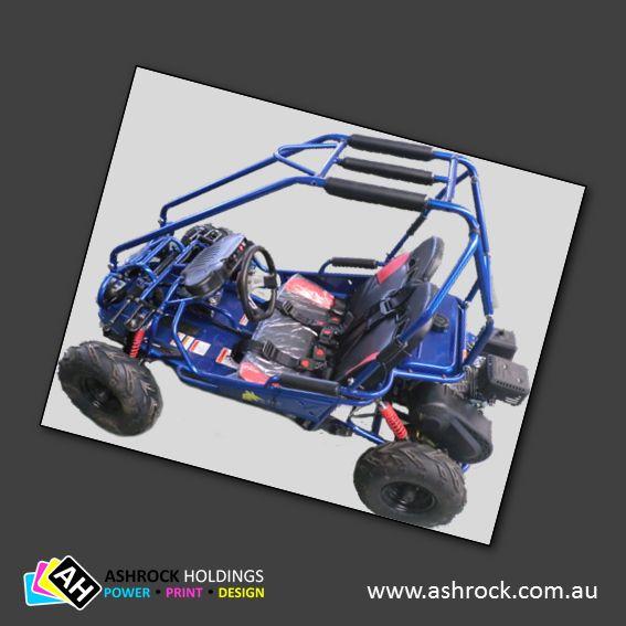 Bilby 160 5.5HP Kids Go Kart (Blue) #ashrock #zuma #bilby160 #gokart #buggy #kids #blue