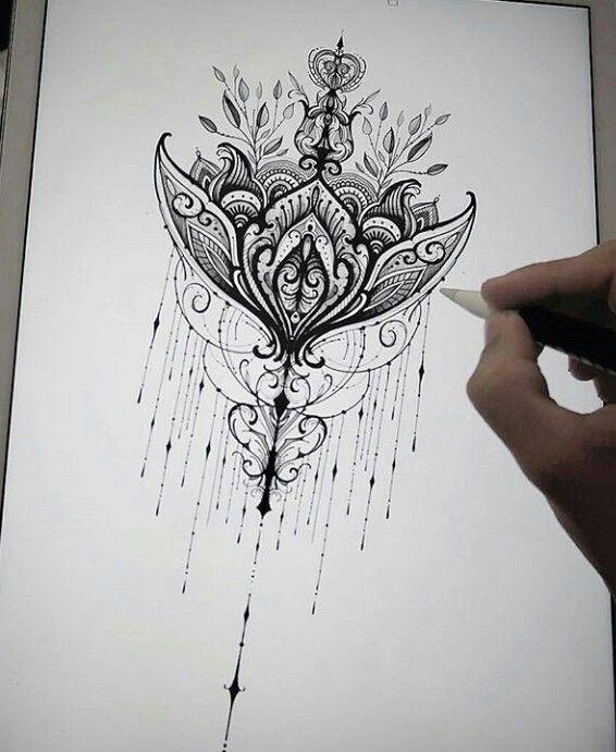 Hermoso tatuaje para personas esperanzadas y de un carácter muy tranquilo! Se los recomiendo!