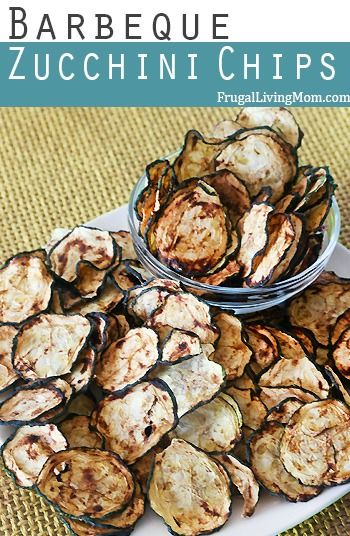 BBQ Zucchini Chips. Yum, enjoy these healthy veggie chips all summer long. Great for family outings.