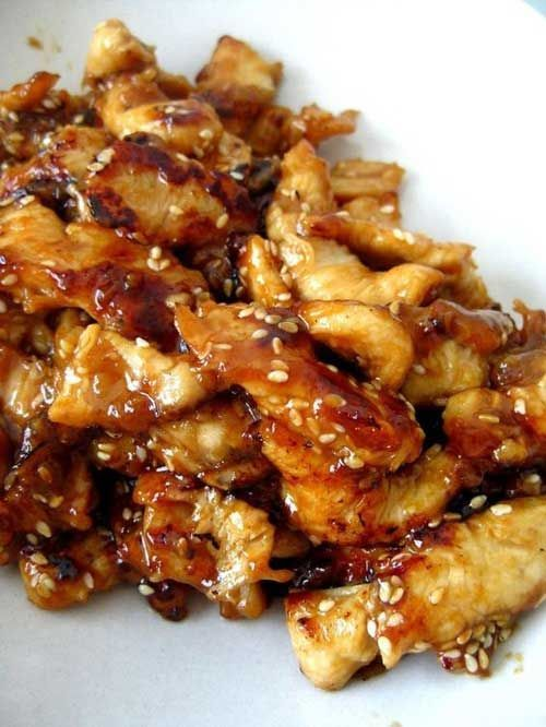 Recipe for Slow Cooker Teriyaki Chicken - Serve the chicken over rice, you dont want any of that delicious, sticky sauce going to waste. And because we are all trying to be healthier this time of year make sure to serve lots of fresh stir fried vegetable