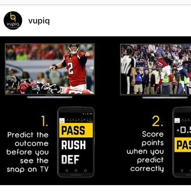 We're estatic to tell you about our partner @vupiq ! They are the first free play-by-play fantasy football game.  Think like the players and coaches on the field and crush your friends as you predict each play from the comfort of your own couch. We're giving you a chance to signup now for an invitation to beta test Vupiq  free play-by-play fantasy football -- via the link in our bio! --- #Vupiq #NFL #NFL2017 #FantasyFootball #DailyFantasyFootball #FantasyFootballAdvice #Sponsored…