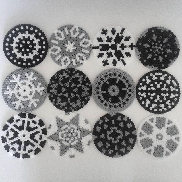 Coasters hama beads by dk.sanne