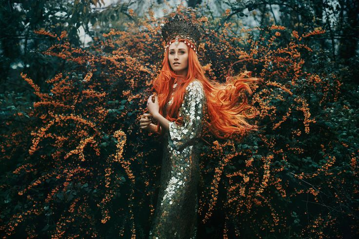 """The Tempest"" —  Photographer: Bella Kotak​ Model: Camille Starr Prestwich"