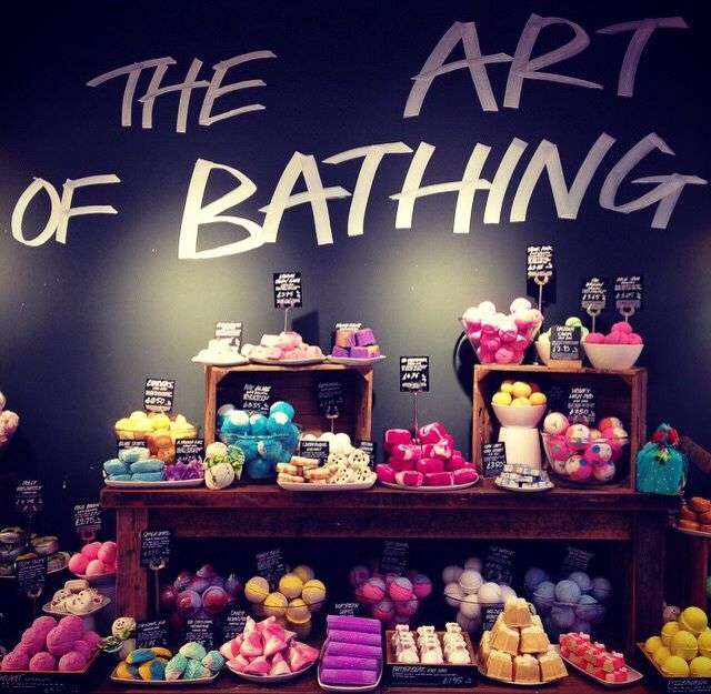 This is a store called Lush and they have to greatest organic travel size soaps and shampoos that last the longest time ever. They look funky but work great. They have locations around the world ( they are on the high end). Highly encourage it!