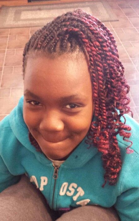 Here Is The Front Cornrow Styles For Little Girls