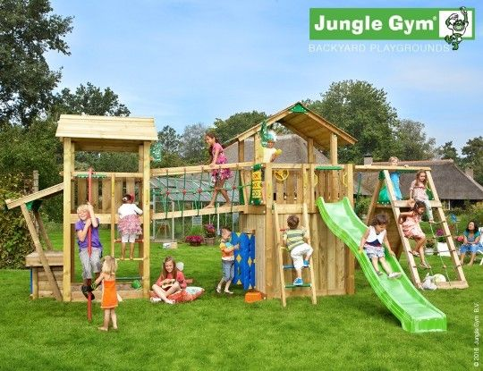 Play Paradise 4 ✨ - A large and wonderful play area! #JungleGym