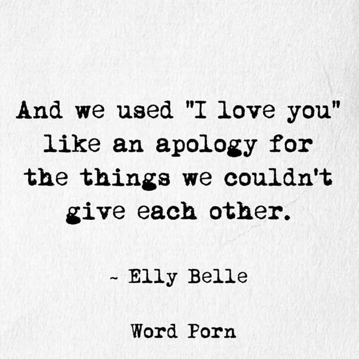 Dangerous words used so easily...