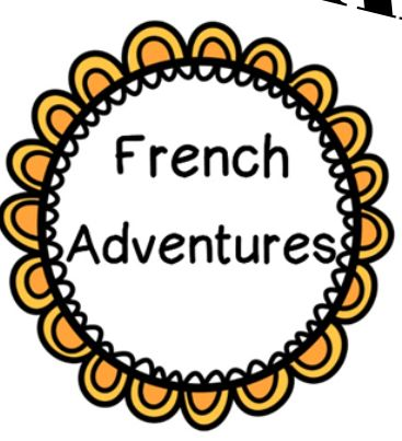 All resources French Immersion!