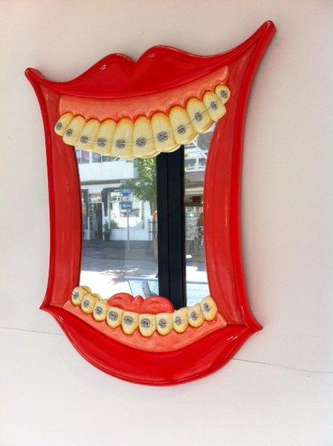 Dental Braces as a mirror...