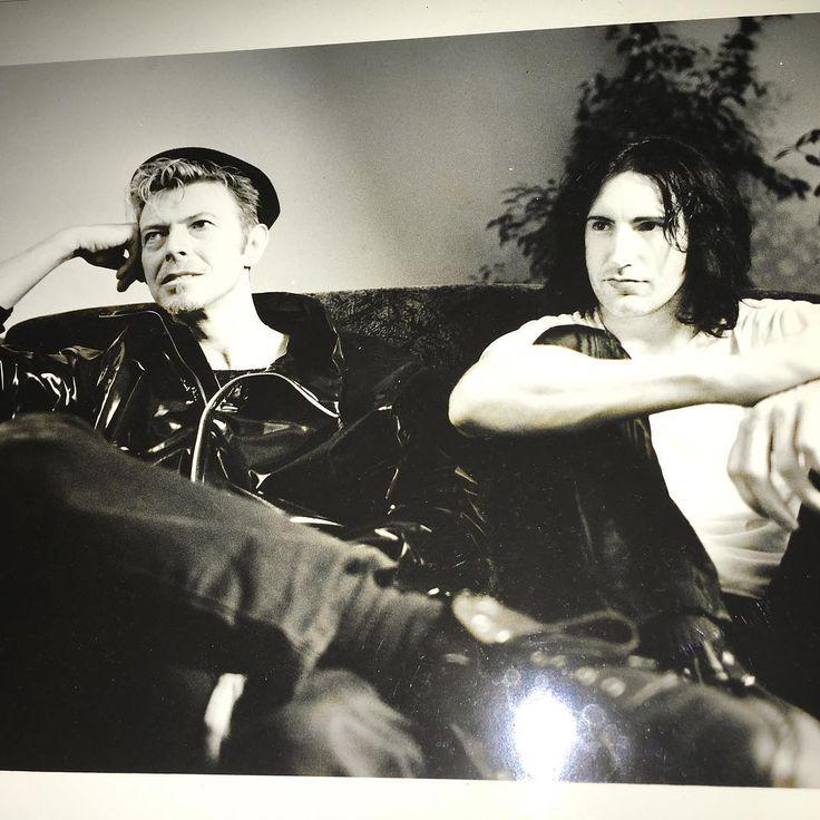 David Bowie & Trent Reznor https://www.instagram.com/p/BHSUX9kj4e7/?taken-by=treznor