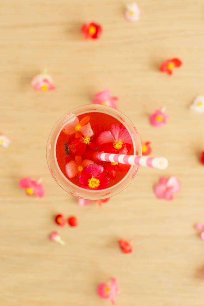 Cocktail hiver : Spritz au jus de cranberry  - Quels cocktails d'hiver pour fêter la nouvelle année ? - Elle à Table