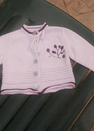 À vendre sur #vintedfrance ! http://www.vinted.fr/mode-enfants/gilets/38169211-gilet-cadet-rousselle-rose-pale-6-mois