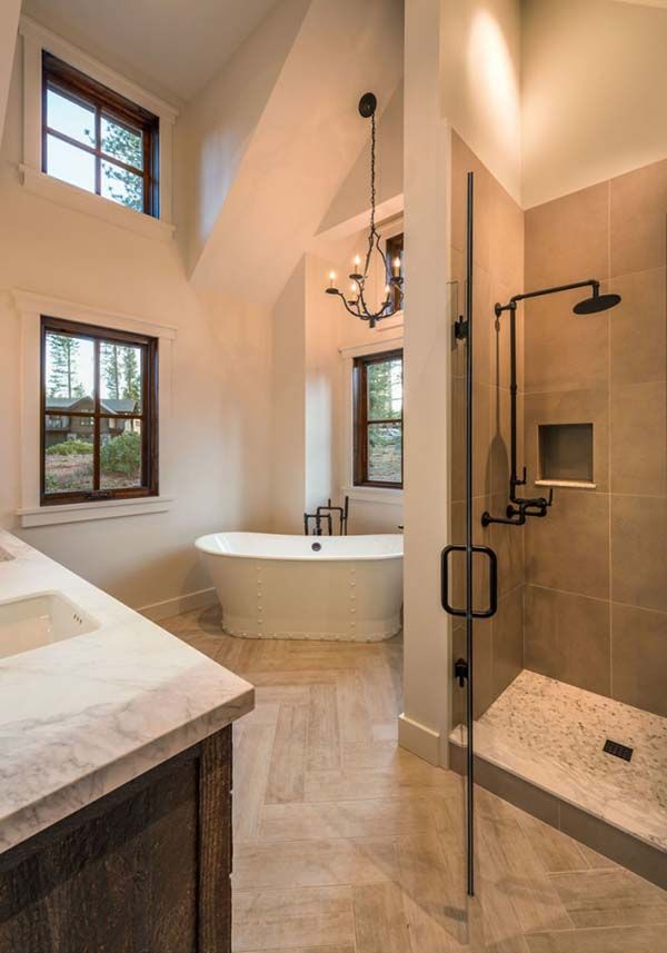 Rustic And Modern Bathroom Remodel Ideas 1 Chicago