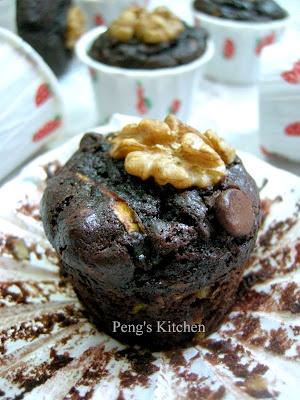 Zucchini Chocolate Walnut Cake