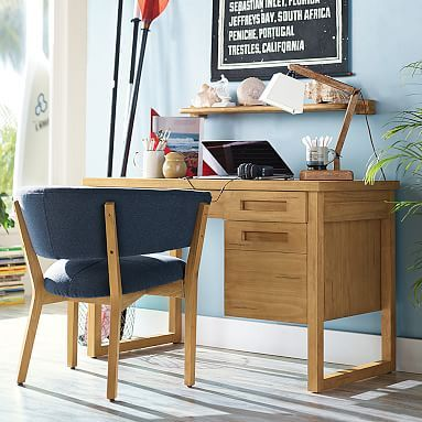 Dover Desk // Exclusively designed with 11-time world surfing champ Kelly Slater, this Craftsman-style desk is the perfect place to work on homework, projects and more. Made from FSC-certified wood, it balances an eco-friendly approach with supercool style.
