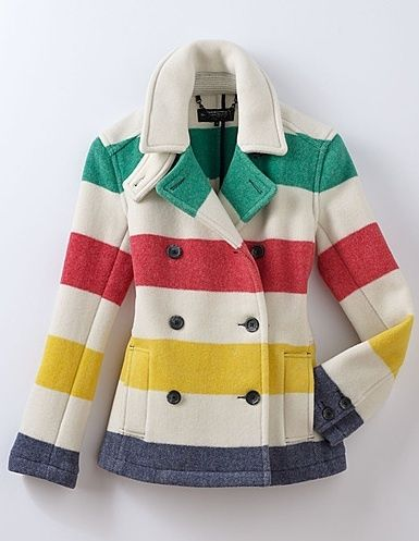 Woman's Pea Coat – Hudson's Bay Company