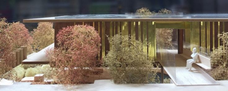 dRMM Submits Plans for a New Maggie's Centre in Oldham,Model of proposed Maggie's Centre in Oldham, UK. Image © dRMM